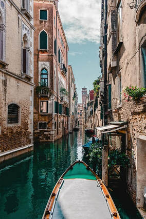 Venice Canal and Gondola